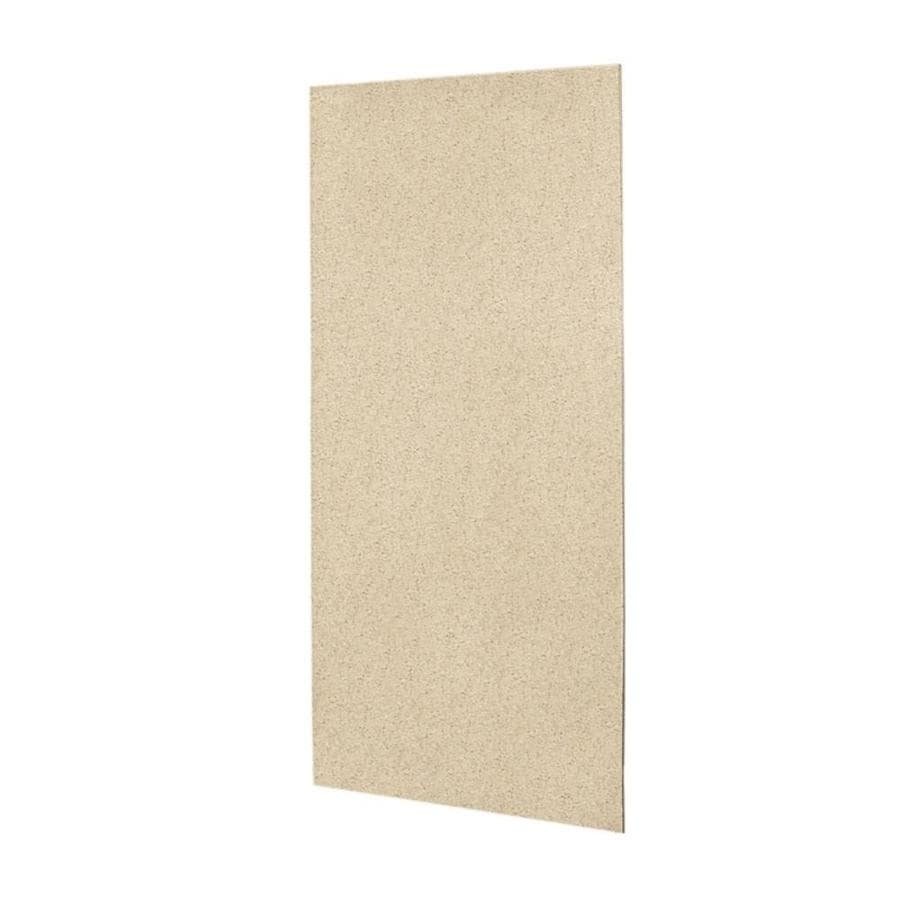 Swanstone Bermuda Sand Shower Wall Surround Back Panel (Common: 0.25-in; Actual: 96-in x 0.25-in)