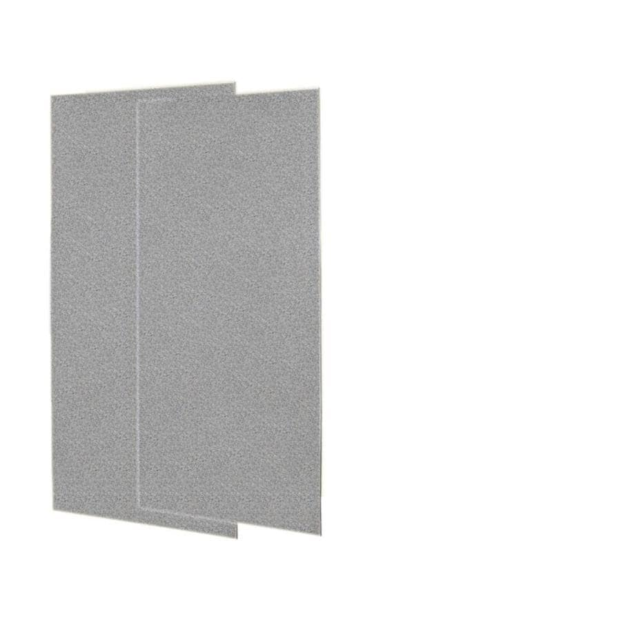 Swanstone Gray Granite Shower Wall Surround Back Panel (Common: 0.25-in; Actual: 96-in x 0.25-in)