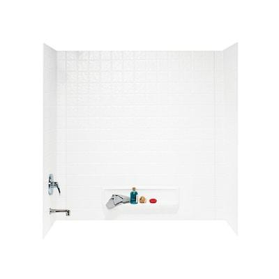 Swanstone Fiberglass And Plastic Composite Bathtub Wall