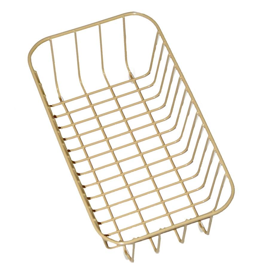 Swanstone 12.25-in W x 14.24-in L x 5.25-in H Metal Dish Rack