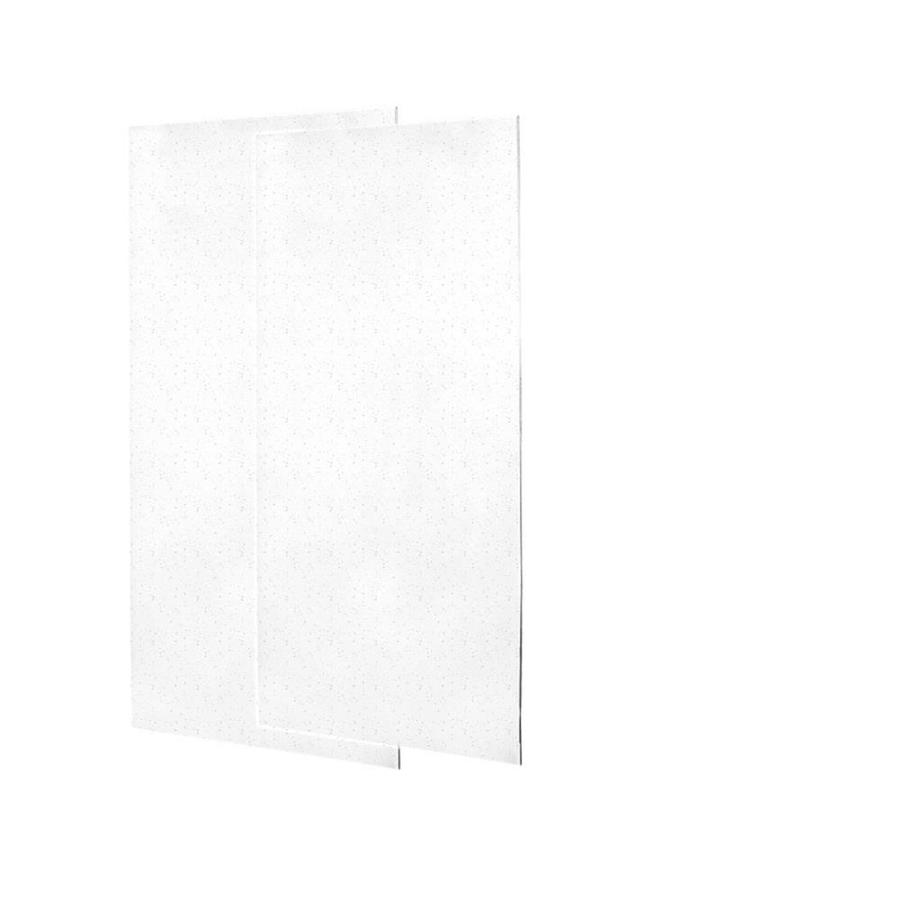 Swanstone Arctic Granite Shower Wall Surround Side Wall Panel Kit (Common: 0.25-in x 36-in; Actual: 72-in x 0.25-in x 36-in)