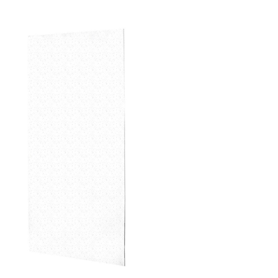 Swanstone Arctic Granite Shower Wall Surround Back Wall Panel (Common: 0.25-in x 48-in; Actual: 96-in x 0.25-in x 48-in)