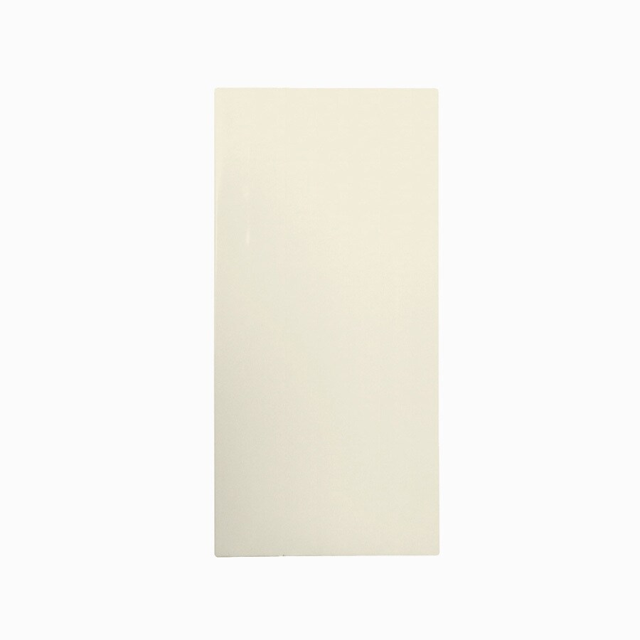 Swanstone Bone Fiberglass/Plastic Composite Bathtub Wall Surround (Common: 28-in x 28-in; Actual: 58-in x 28-in x 28-in)