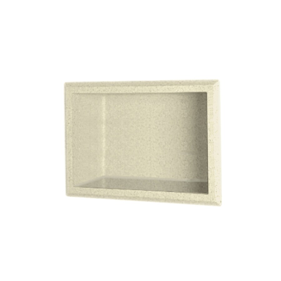 Swanstone Bone Shower Wall Shelf