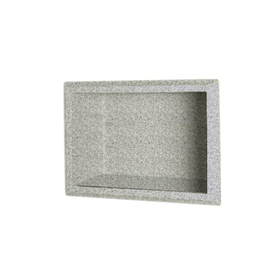Swanstone Gray Granite Shower Wall Shelf