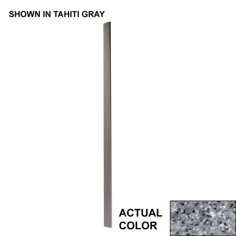 Swanstone Gray Granite Shower Wall Trim Pieces