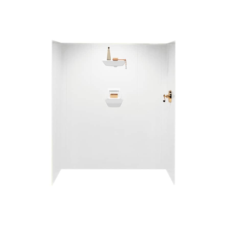 Swanstone White Shower Wall Surround Side and Back Panels (Common: 36-in; Actual: 70-in x 36-in)
