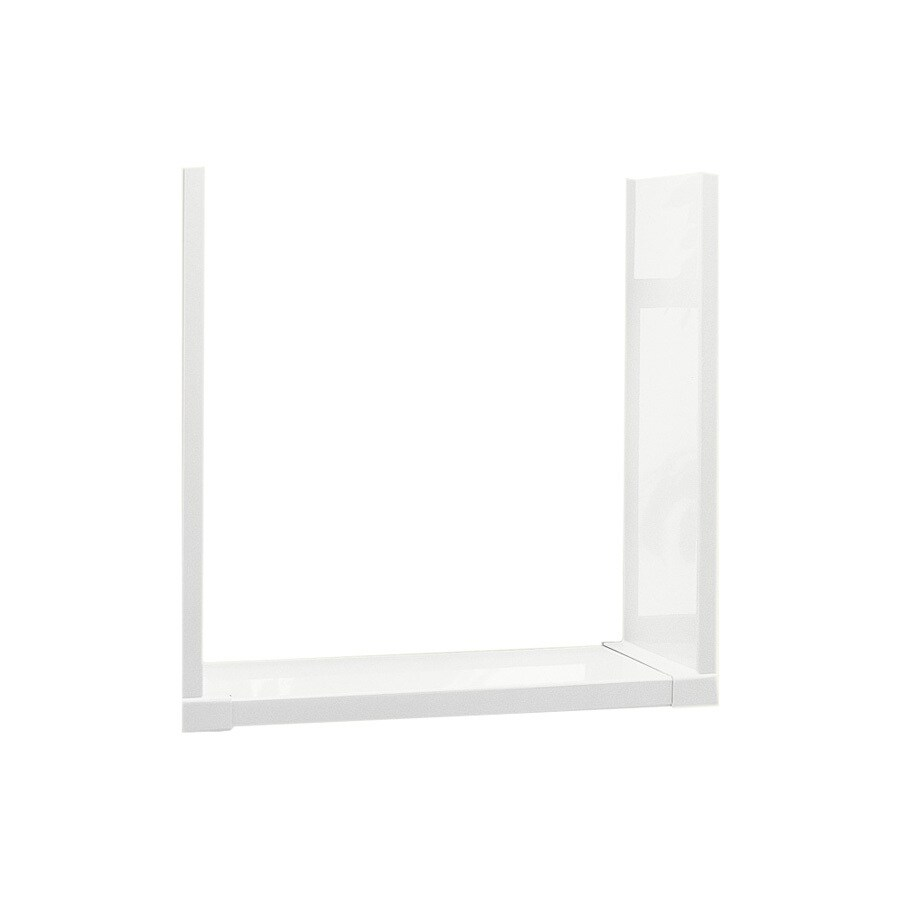Swanstone White Shower Wall Surround Back Panel (Common: 30-in; Actual: 30-in x 8-in)