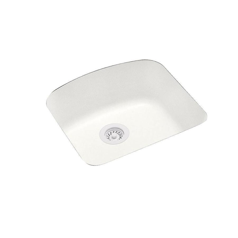 Shop swanstone x tahiti ivory single for Swanstone undermount sinks