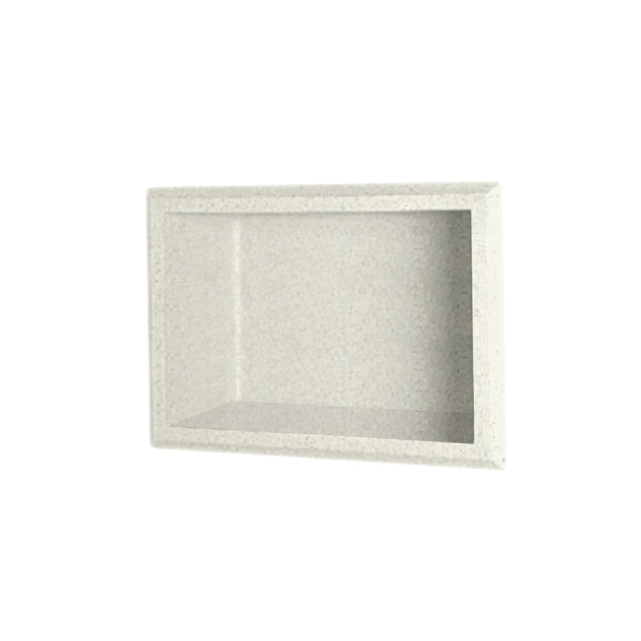 Shop Swanstone Bisque Shower Wall Shelf At Lowes Com
