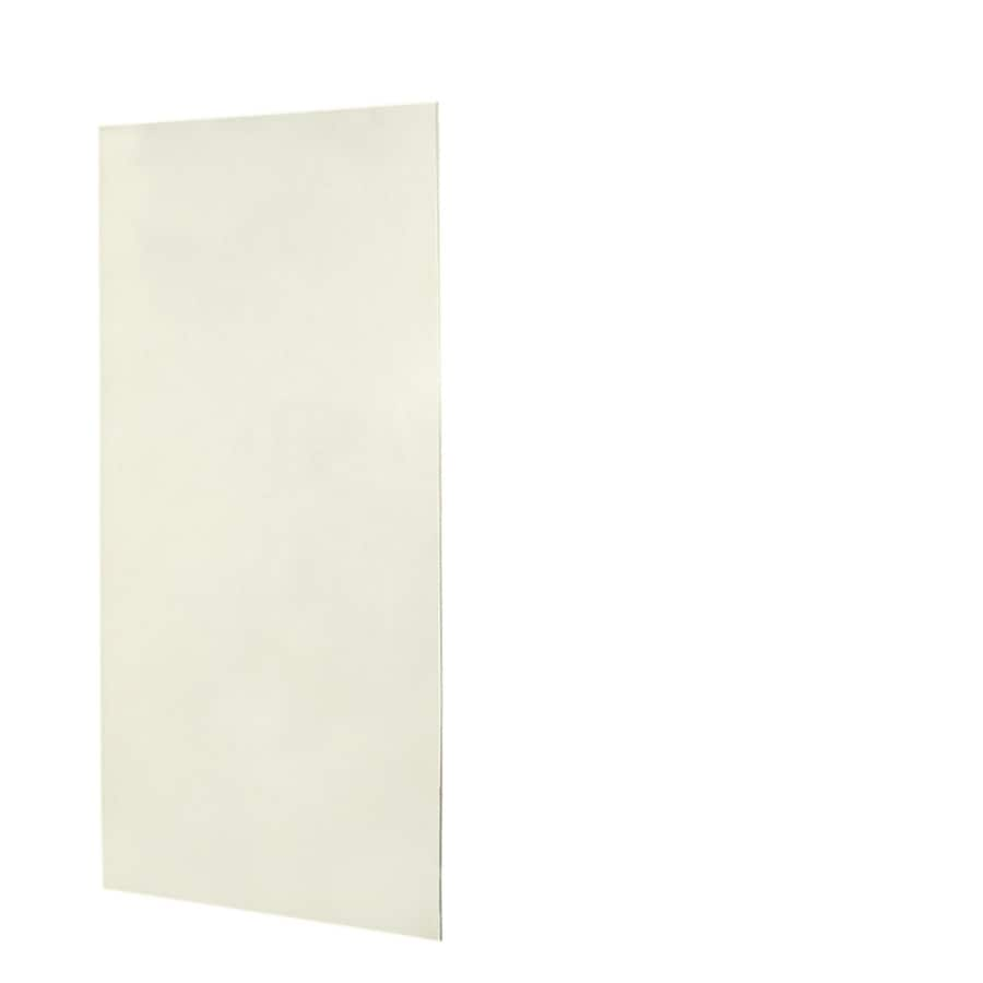 Swanstone Bisque Shower Wall Surround Back Wall Panel (Common: 0.25-in x 48-in; Actual: 96-in x 0.25-in x 48-in)