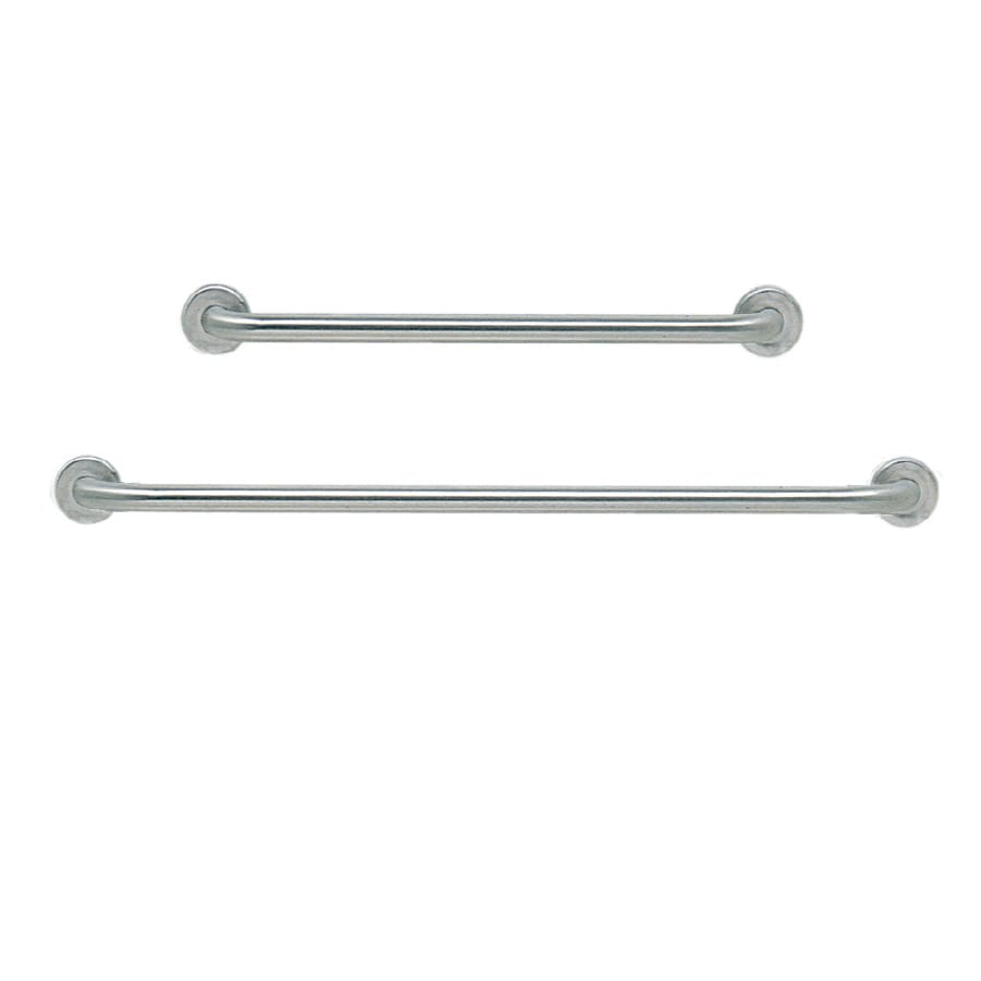Swanstone 48-in Stainless Steel Wall Mount Grab Bar