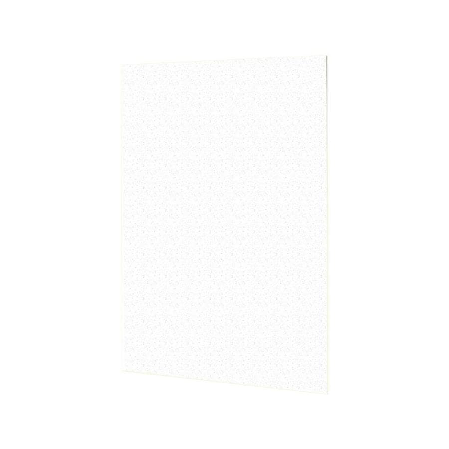 Swanstone Arctic Granite Shower Wall Surround Back Wall Panel (Common: 0.25-in x 60-in; Actual: 60-in x 0.25-in x 60-in)