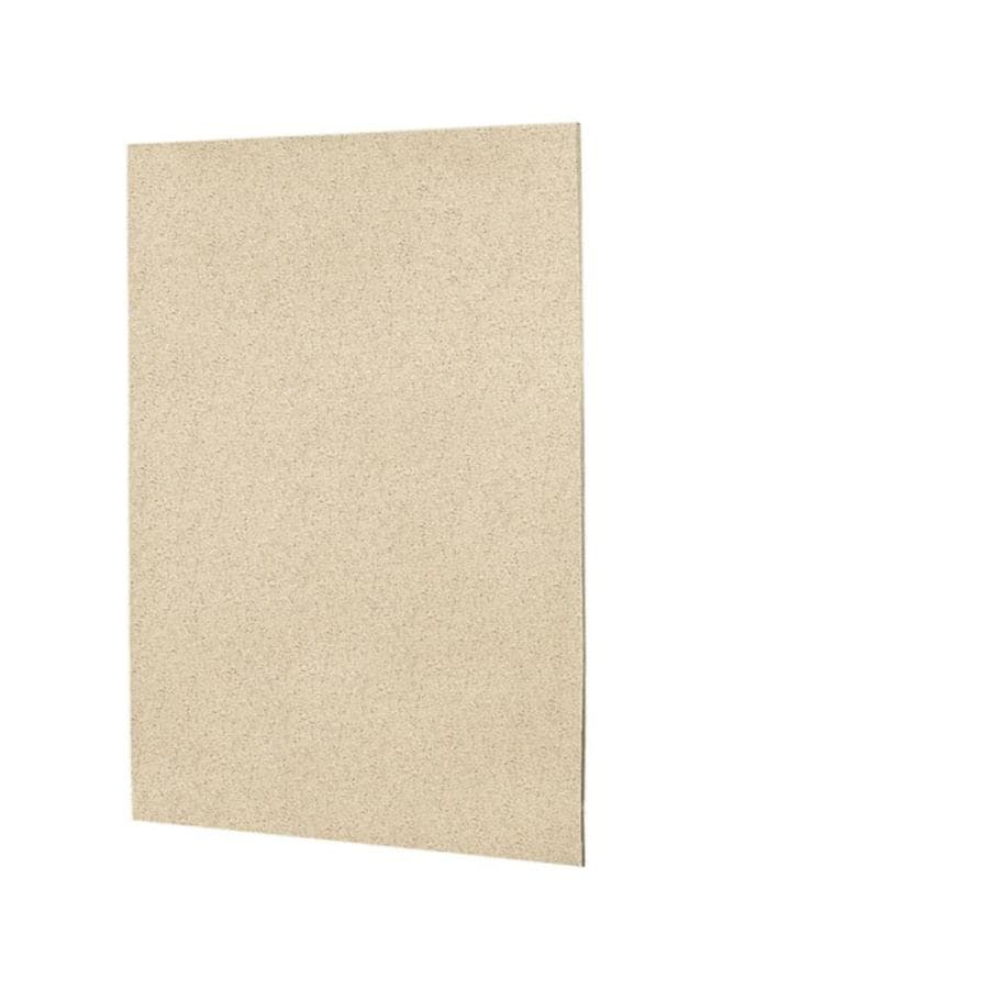 Swanstone Bermuda Sand Shower Wall Surround Back Wall Panel (Common: 0.25-in x 60-in; Actual: 72-in x 0.25-in x 60-in)