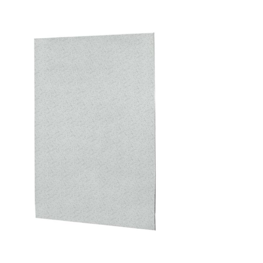 Swanstone Tahiti Gray Shower Wall Surround Back Panel (Common: 0.25-in; Actual: 72-in x 0.25-in)