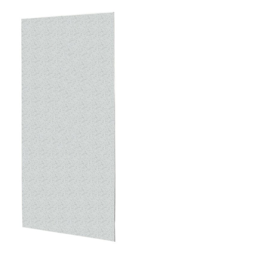 Swanstone Tahiti Gray Shower Wall Surround Back Wall Panel (Common: 0.25-in x 36-in; Actual: 72-in x 0.25-in x 36-in)