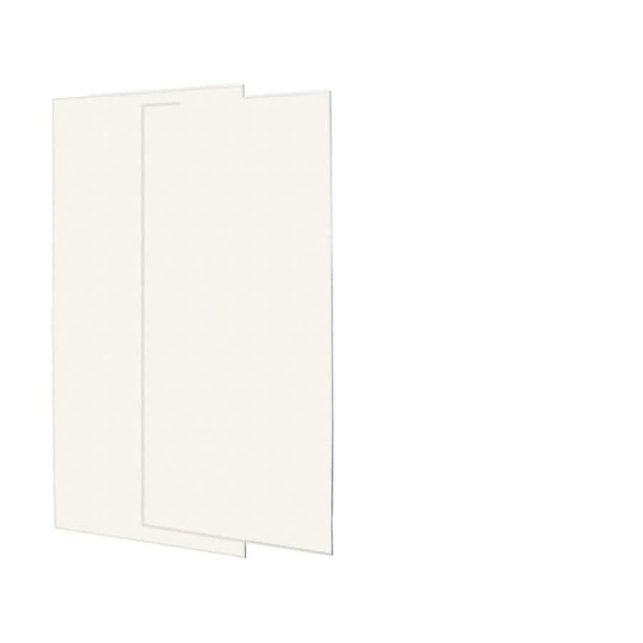 Swanstone Tahiti Ivory Shower Wall Surround Back Panel (Common: 0.25-in; Actual: 72-in x 0.25-in)