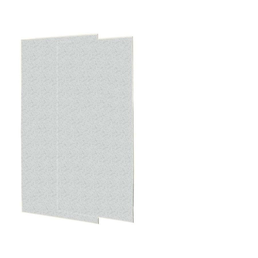 Swanstone Tahiti Gray Shower Wall Surround Side Wall Panel Kit (Common: 0.25-in x 36-in; Actual: 72-in x 0.25-in x 36-in)