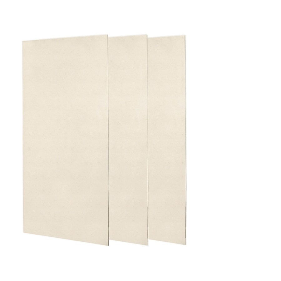 Swanstone Tahiti Sand Shower Wall Surround Side and Back Panels (Common: 0.25-in; Actual: 72-in x 0.25-in)