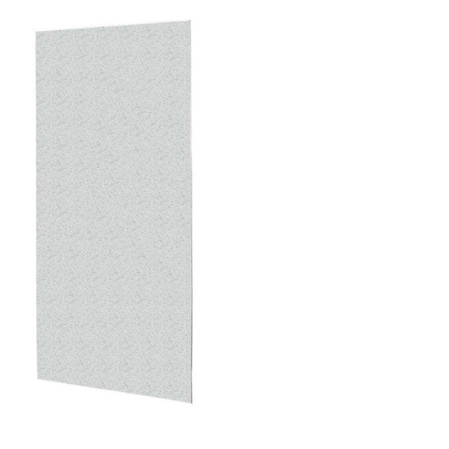 Swanstone Tahiti Gray Shower Wall Surround Back Wall Panel (Common: 0.25-in x 36-in; Actual: 96-in x 0.25-in x 36-in)