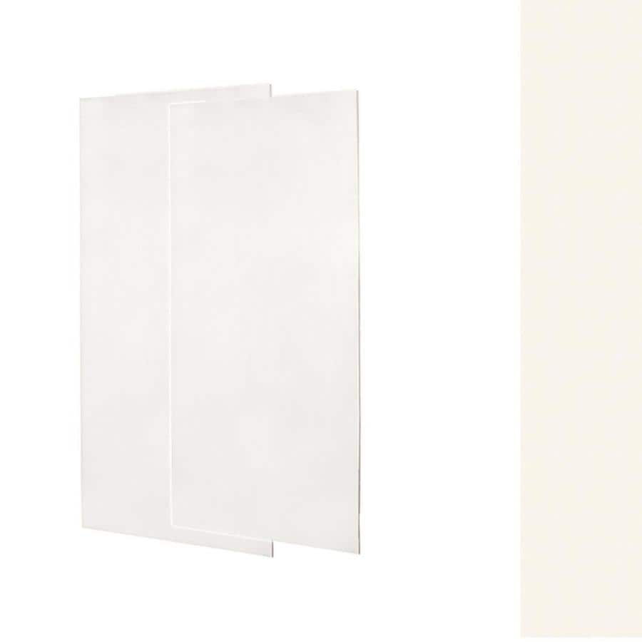 Swanstone Tahiti Ivory Shower Wall Surround Side Wall Panel Kit (Common: 0.25-in x 36-in; Actual: 96-in x 0.25-in x 36-in)