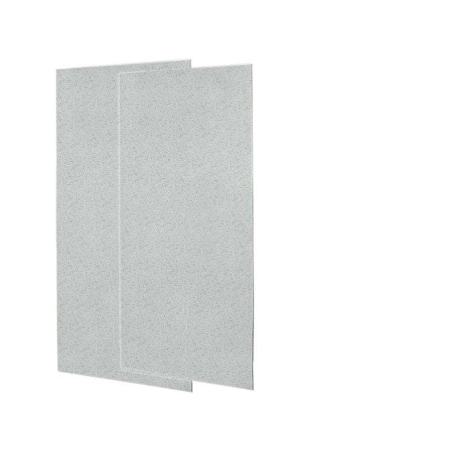 Swanstone Tahiti Gray Shower Wall Surround Side Wall Panel Kit (Common: 0.25-in x 36-in; Actual: 96-in x 0.25-in x 36-in)