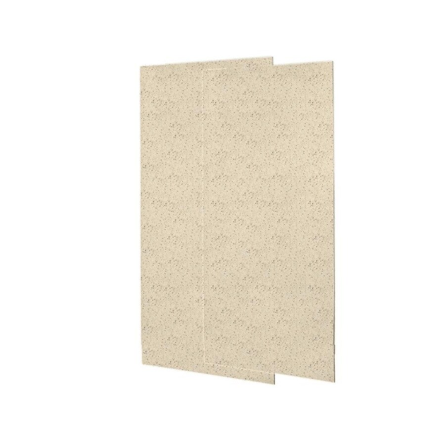 Swanstone Tahiti Desert Shower Wall Surround Side Wall Panel Kit (Common: 0.25-in x 36-in; Actual: 96-in x 0.25-in x 36-in)