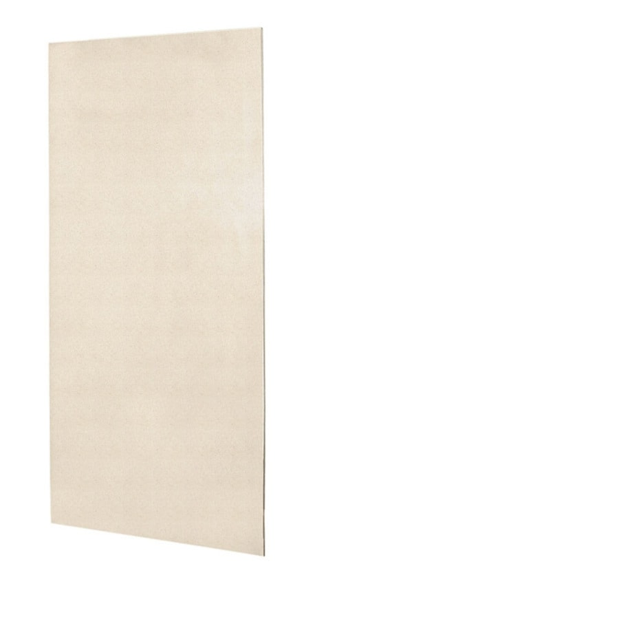 Swanstone Tahiti Sand Shower Wall Surround Back Wall Panel (Common: 0.25-in x 48-in; Actual: 96-in x 0.25-in x 48-in)