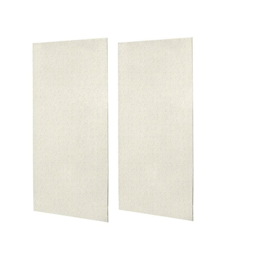 Swanstone Tahiti Matrix Shower Wall Surround Side Wall Panel Kit (Common: 0.25-in x 48-in; Actual: 96-in x 0.25-in x 48-in)