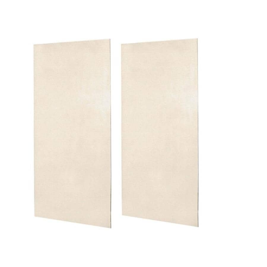 Swanstone Tahiti Sand Shower Wall Surround Side Wall Panel Kit (Common: 0.25-in x 48-in; Actual: 96-in x 0.25-in x 48-in)