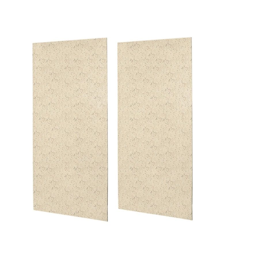 Swanstone Tahiti Desert Shower Wall Surround Side Wall Panel Kit (Common: 0.25-in x 48-in; Actual: 96-in x 0.2500-in x 48-in)