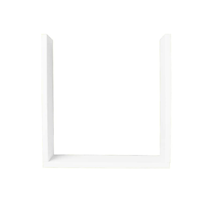 Swanstone White Shower Wall Window Trim Kit