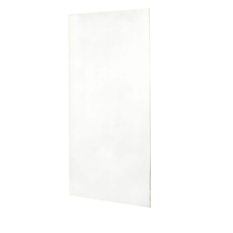 Swanstone Tahiti White Shower Wall Surround Back Panel (Common: 0.25-in; Actual: 72-in x 0.25-in)