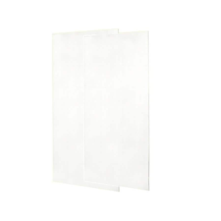 Swanstone Tahiti White Shower Wall Surround Side Wall Panel Kit (Common: 0.25-in x 36-in; Actual: 96-in x 0.25-in x 36-in)
