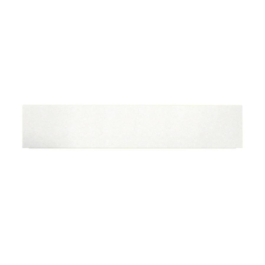 Swanstone Tahiti White Fiberglass and Plastic Composite