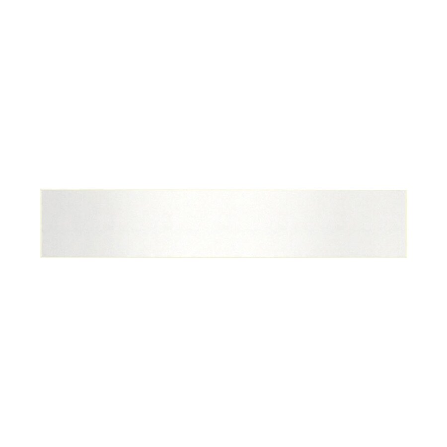 Swanstone 3-in H x 21-in L Tahiti White Bathroom Side Splash
