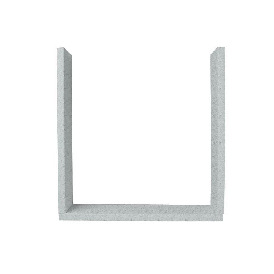 Swanstone Tahiti Gray Shower Wall Window Trim Kit