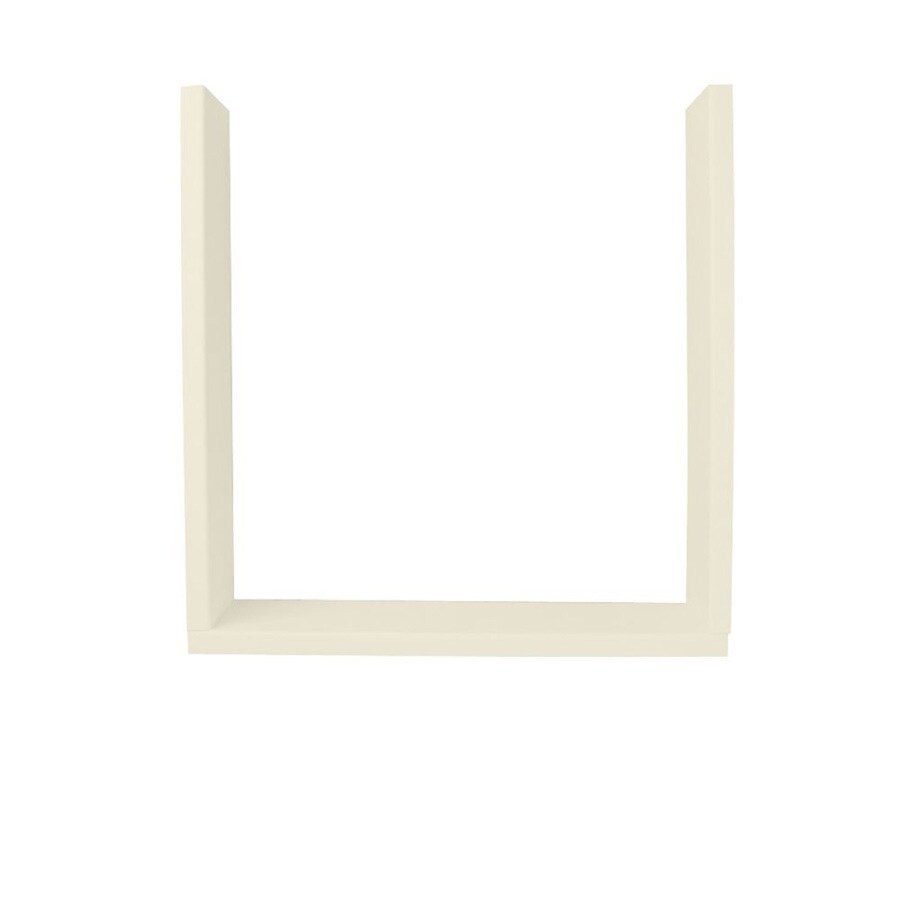 Shop Swanstone Bone Shower Wall Window Trim Kit At Lowes Com