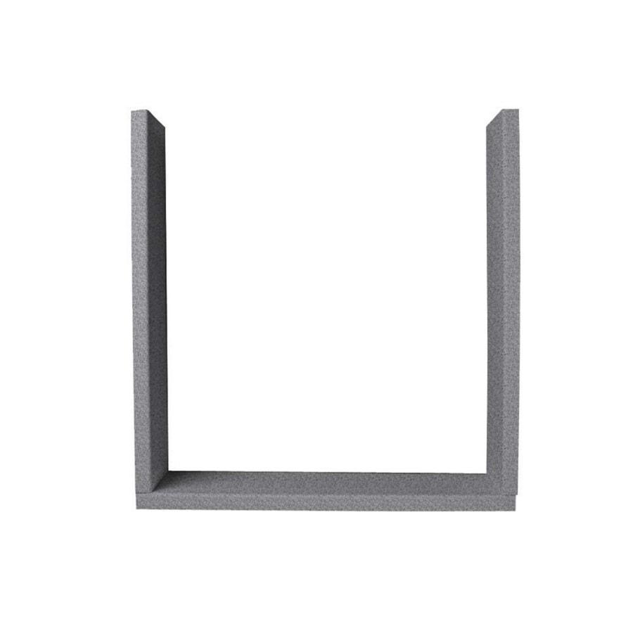 Swanstone Gray Granite Shower Wall Window Trim Kit