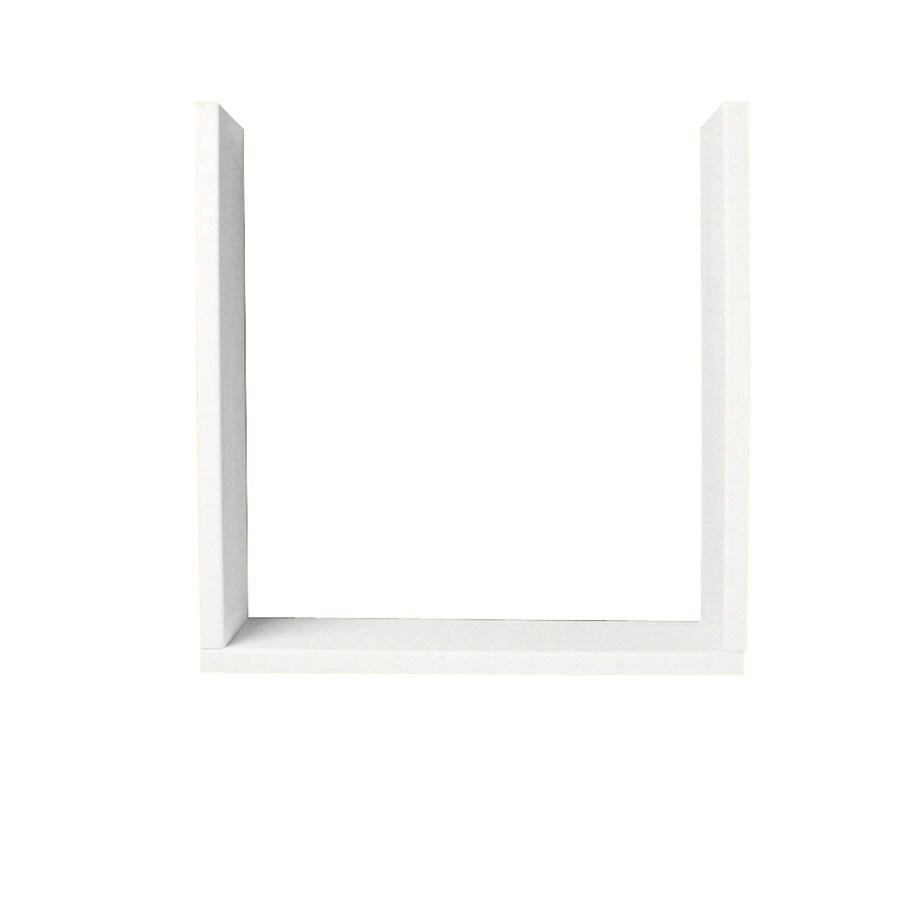 Swanstone Tahiti White Shower Wall Window Trim Kit