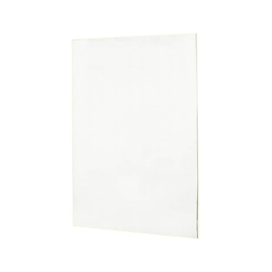Swanstone Tahiti White Shower Wall Surround Back Wall Panel (Common: 0.25-in x 60-in; Actual: 72-in x 0.25-in x 60-in)