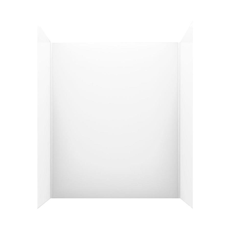 Swanstone Solid Surface Bathtub Wall Surround (Common: 30-in x 60-in; Actual: 72-in x 30-in x 60-in)