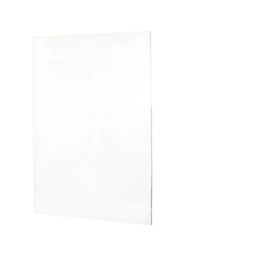 Swanstone White Shower Wall Surround Back Wall Panel (Common: 0.25-in x 60-in; Actual: 72-in x 0.25-in x 60-in)
