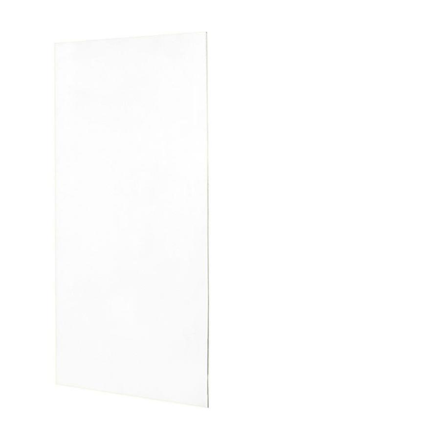 Swanstone White Shower Wall Surround Back Wall Panel (Common: 0.25-in x 36-in; Actual: 72-in x 0.25-in x 36-in)