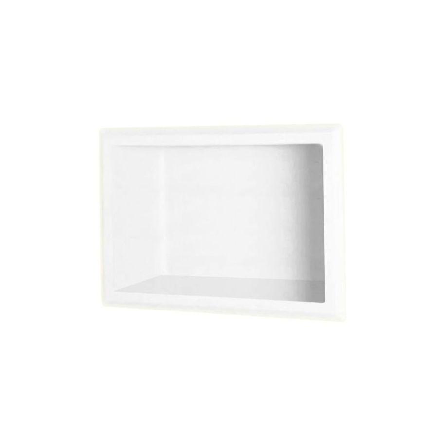 Swanstone White Shower Wall Shelf