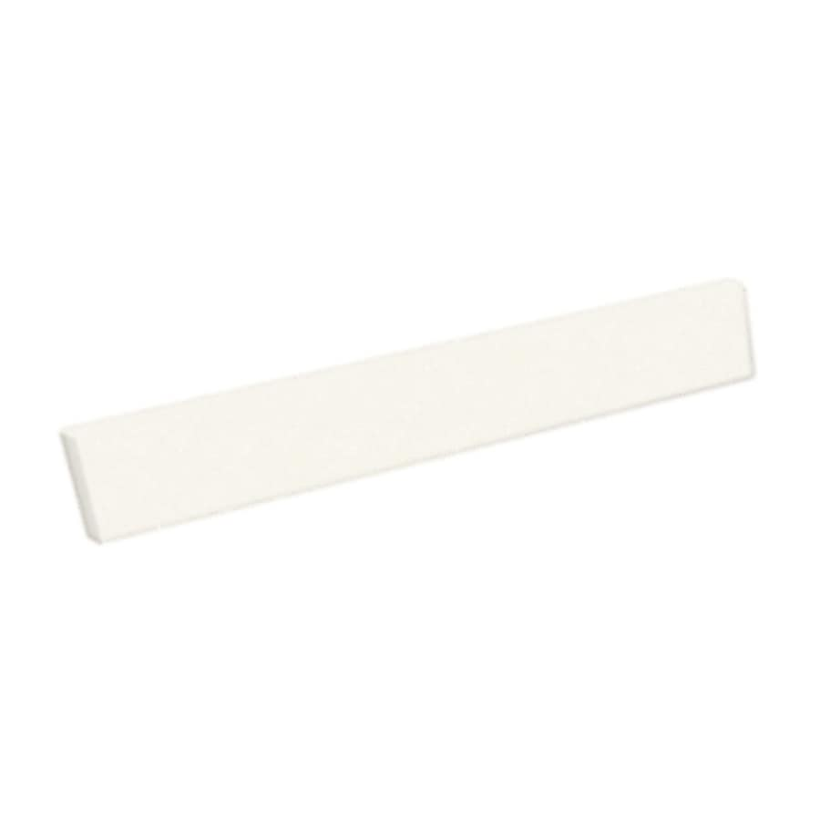 Swanstone 3-in H x 22.25-in L Tahiti Ivory Bathroom Side Splash