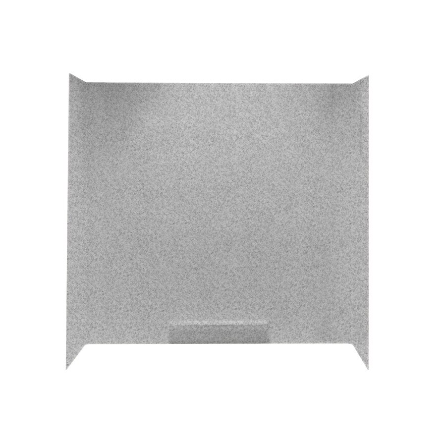 Swanstone Fiberglass and Plastic Composite Bathtub Wall Surround (Common: 30-in x 60-in; Actual: 58-in x 30-in x 60-in)
