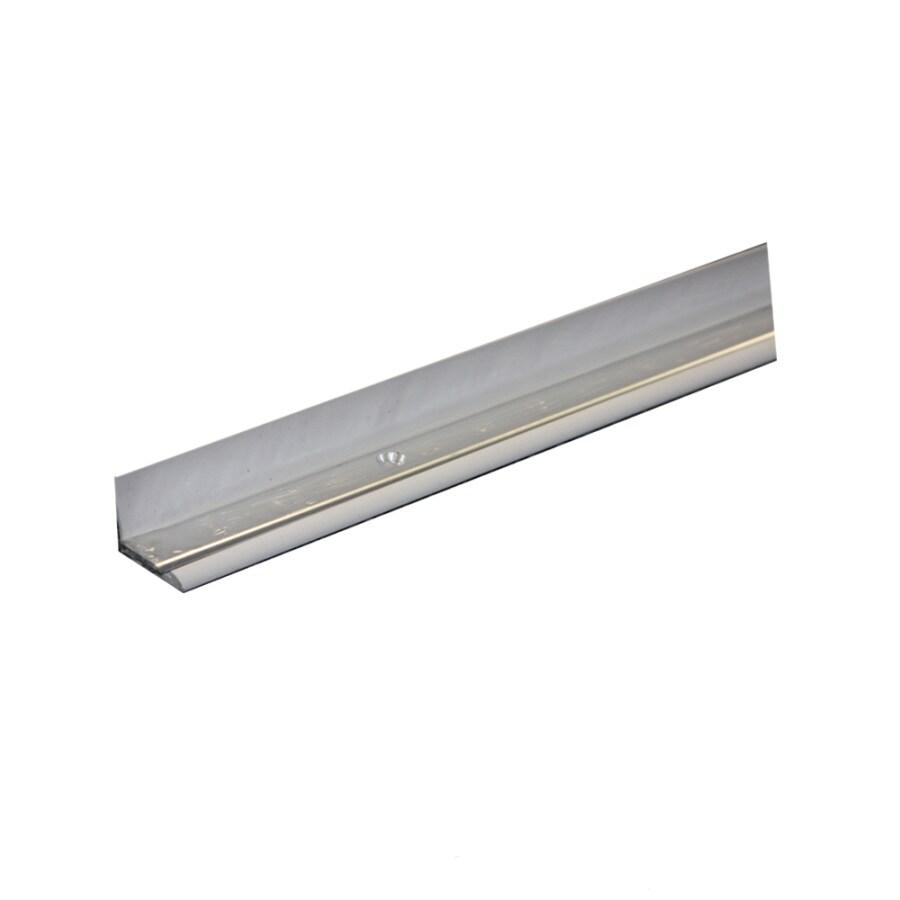 Swanstone White/Aluminum Anodized Aluminum Shower Threshold