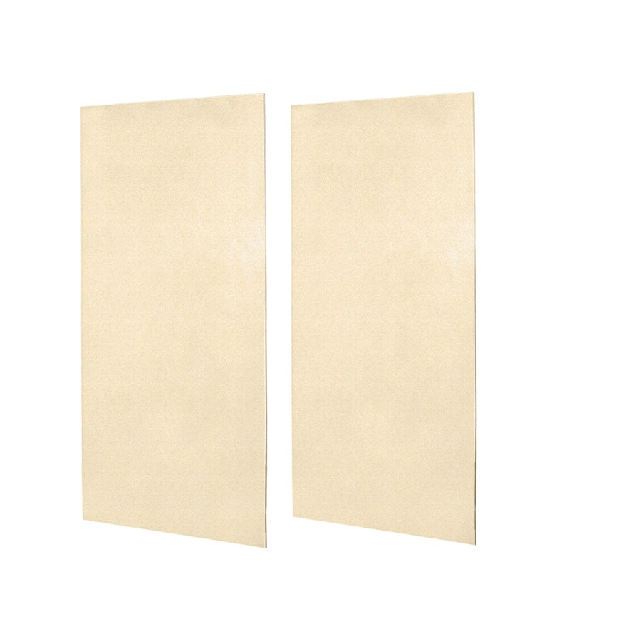 Swanstone Cornflower Shower Wall Surround Back Panel (Common: 0.25-in; Actual: 96-in x 0.25-in)