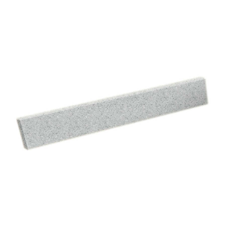 Swanstone 3-in H x 18-in L Tahiti Gray Bathroom Side Splash